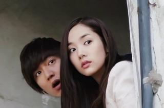 Park Min Yeong CityHunterEp10LeeMinHoParkMinYeong3StepLightBulbKiss-copie-1